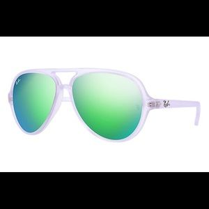 Ray-Ban Turbo Cats 5000 Aviator Sunglasses